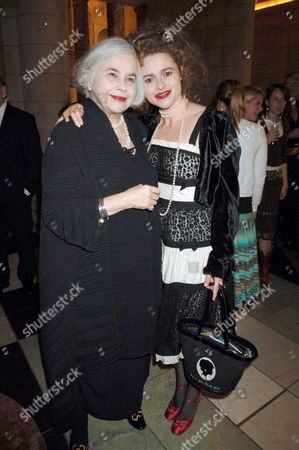 Stock Picture of Helena Bonham Carter and Elena Wynnona