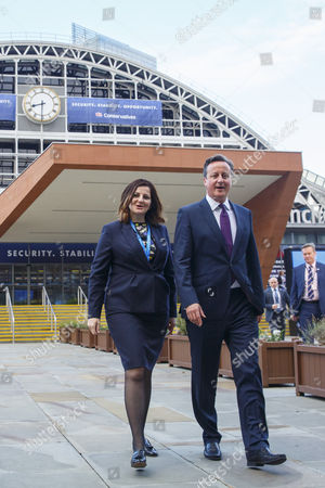Editorial picture of Conservative Party Conference, Manchester, Britain - 06 Oct 2015