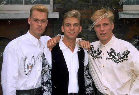Stock Picture of Big Fun - Phil Creswick, Jason John and Mark Gillespie - 1989