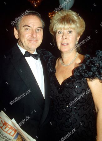 Bob Monkhouse with his wife