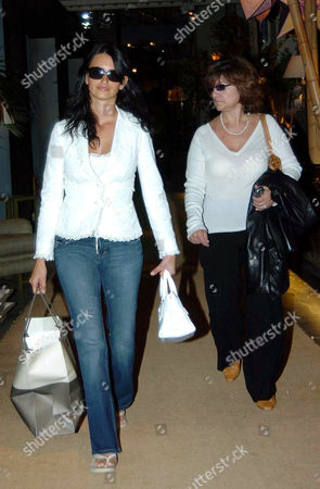 Penelope Cruz out and about with her mother Encarna Sanchez