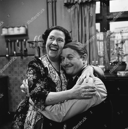 PEGGY MOUNT AND DAVID KOSSOFF IN 'THE LARKINS' - 1964