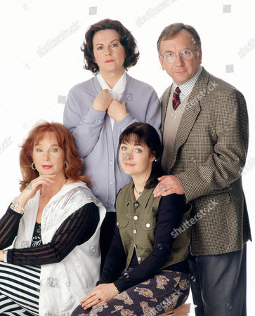 Stock Picture of GWEN TAYLOR, SAM KELLY, SHIRLEY ANNE FIELD AND CAROLINE MILMOE IN 'BARBARA' - 1995