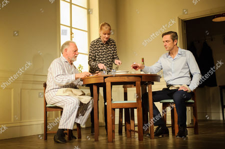 Kenneth Cranham (Andre). Claire Skinner (Anne), Nicholas Gleaves (Pierre).