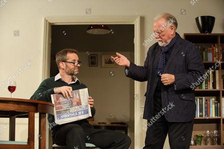 Stock Image of Jim Sturgeon (Man), Kenneth Cranham (Andre).