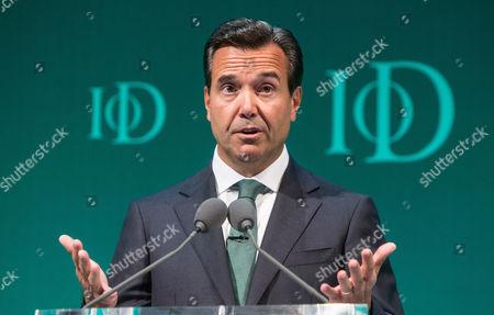 Antonio Horta-Osorio, Group chief execitive of Lloyds banking group