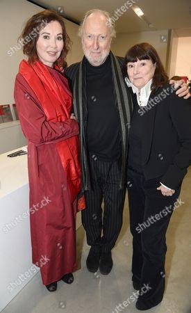 Carol Victor, Ed Victor and Belinda Harley