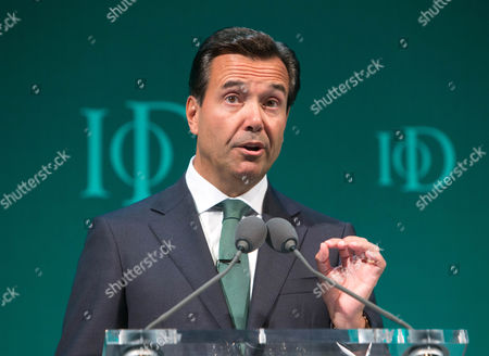 Stock Picture of Antonio Horta-Osorio, Group Chief Executive,LLoyds banking Group,speaks