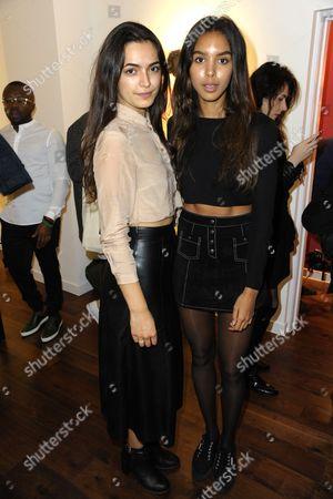 Yasmin Leui'i and Arlissa