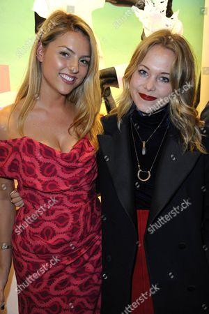 India Whalley and Poppy Jamie