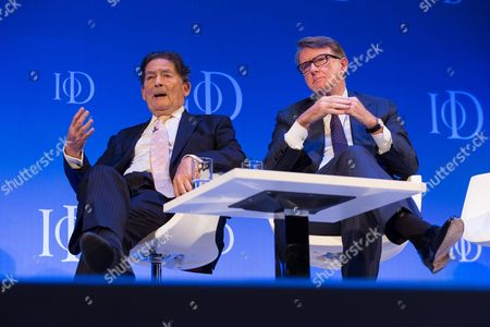 Lord Lawson and Lord Peter Mandelson