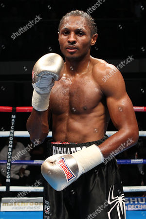 Craig Richards (black shorts) defeats Scott Douglas during the 'Stand & Deliver' Boxing Show at York Hall, Bethnal Green