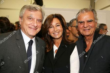 Sidney Toledano, Katia Toledano and Patrick Demarchelier