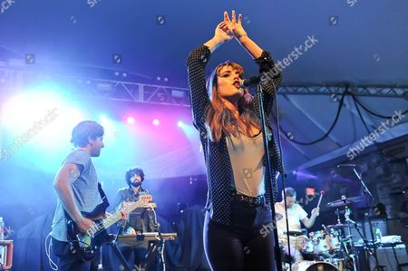 Editorial photo of Ryn Weaver concert at Stubb's, Austin, Texas, America - 01 Oct 2015