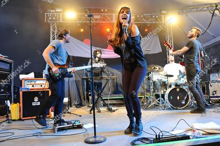 Editorial picture of Ryn Weaver concert at Stubb's, Austin, Texas, America - 01 Oct 2015