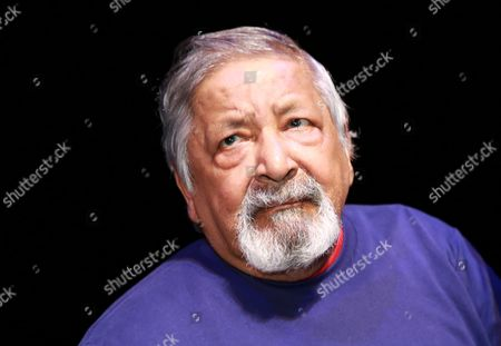 Editorial picture of V. S. Naipaul at the Akademietheater in Vienna, Austria - 06 Oct 2015