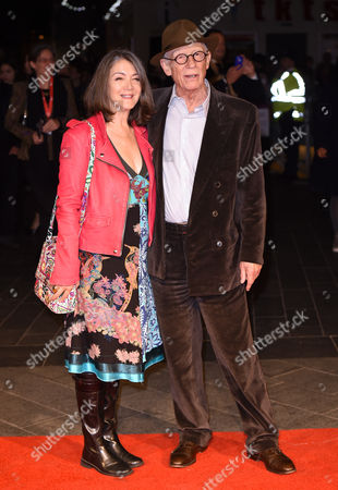 Stock Picture of Anwen Rees-Meyers and John Hurt