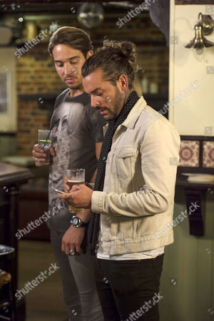 James Lock and Peter Wicks enjoy a night out together when Peter receives an answerphone message from Jess Wright.
