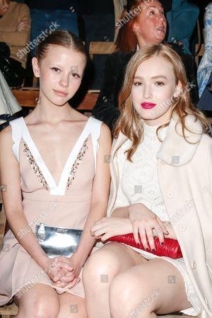 Mia Goth and Maddison Brown