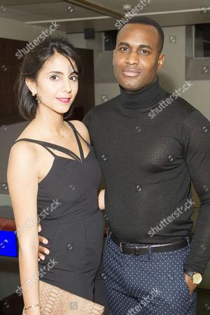Anjli Mohindra (Jenny) and Kadiff Kirwan (Nicky)