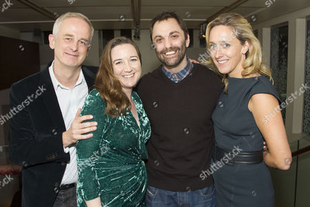 Dominic Cooke (Director), Josie Rourke (Artistic Director), Christopher Shinn (Author) and Kate Pakenham (Executive Producer)
