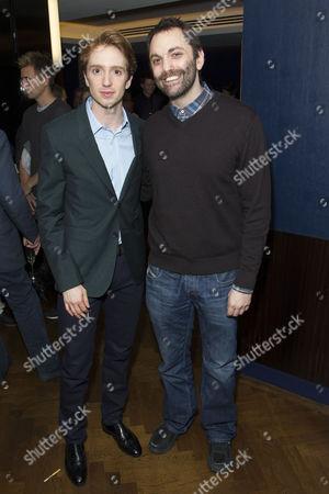 Luke Newberry (Gabe) and Christopher Shinn (Author)