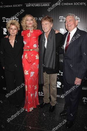 Mary Mapes (Author), Cate Blanchett, Robert Redford, Dan Rather