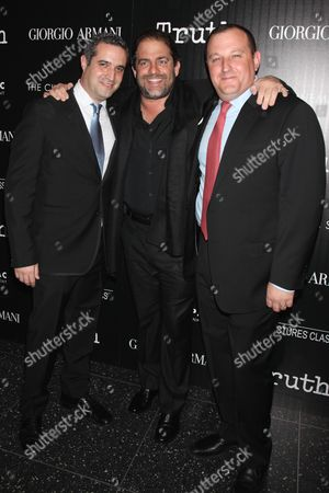 Brad Fischer, Brett Ratner and William Sherak, producers