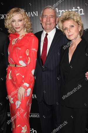 Cate Blanchett, Dan Rather and Mary Mapes (Author)