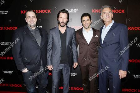 Jean McDowell, Keanu Reeves, Eli Roth, Steve Beeks