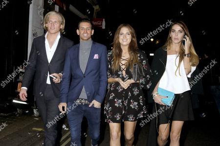 Richard Dinan, Ollie Locke, Alexandra Felstead and Victoria Baker-Harber