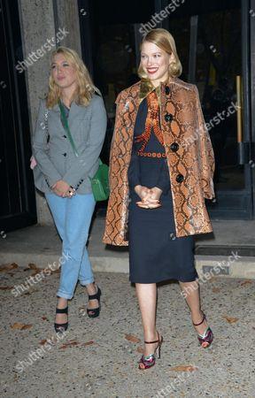 Camille Seydoux and Lea Seydoux