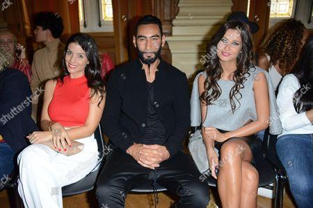 Ludivine Sagna, La Fouine and Malika Menard