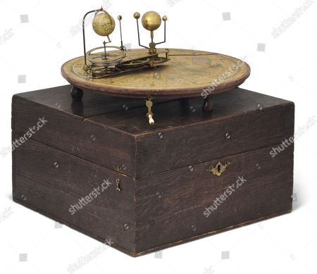 Sir Patrick Moore's Orrery of 1794 Est £15,000.