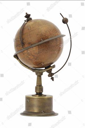 Sir Patrick Moore's 1910 terrestrial globe Est: £1000