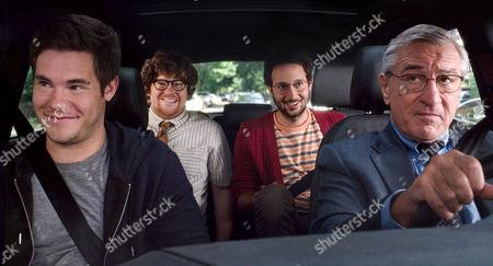 'The Intern' film - Adam Devine, Zack Pearlman, Peter Vack, Robert De Niro