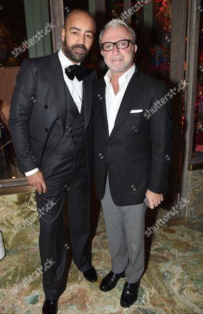 Stock Picture of Paul Murashe and Rafi Manoukian