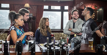 Luke Britton [DEAN FAGAN], Maria Connor [SAMIA GHADIE], Steph Britton [TISHA MERRY] and Andy Carver [OLIVER FARNWORTH] set off for the racetrack. Steph's uneasy when she learns that Luke's friend Jamie [JAMES ATHERTON] is joining them. Andy wonders if Steph fancies Jamie but Steph dismisses the idea.Will Luke be able to change Maria's view of stock car racing?