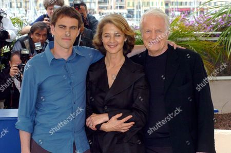 Laurent Lucas with Charlotte Rampling and Andre Dussollier