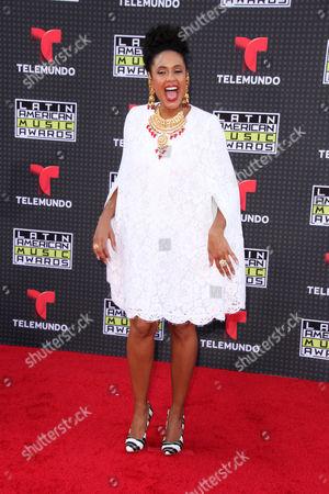 Editorial image of Latin American Music Awards, Los Angeles, America - 08 Oct 2015