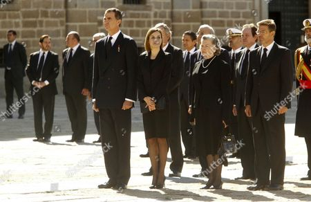 Editorial picture of Prince Carlos of Borbon funeral, Madrid, Spain - 08 Oct 2015