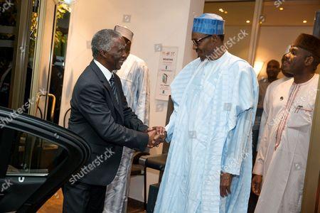 Thabo Mbeki and President Muhammadu Buhari