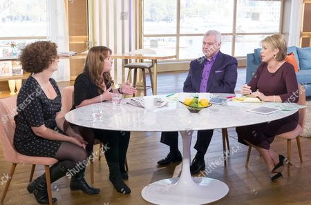 Catherine Cooper and Kelly Rose Bradford with Eamonn Holmes and Ruth Langsford