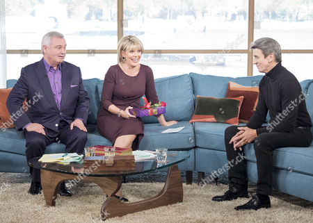 Eamonn Holmes and Ruth Langsford with James Coombes