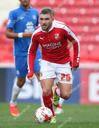 Anton Rodgers of Swindon  - Swindon v Peterborough at The County Ground. 10.10.15 Picture By Jason Dawson