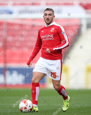 Anton Rodgers of Swindon.   - Swindon v Peterborough at The County Ground. 10.10.15 Picture By Jason Dawson