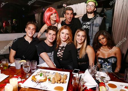 Noah Emanuel, Gregg Sulkin, Dani Thorne, Bella Thorne, Justin Mavandi, Alexa Yarnell, Remy Thorne, Olivia Grace