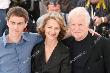 Laurent Lucas, Charlotte Rampling and Andre Dussollier