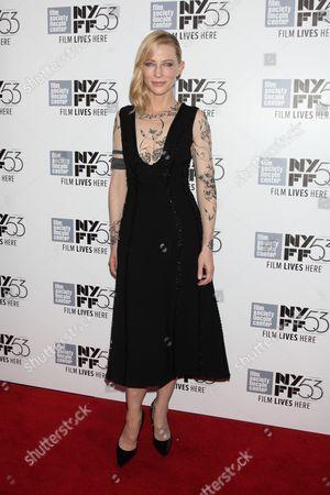 Editorial image of 'Carol' film premiere, 53rd New York Film Festival, America - 09 Oct 2015