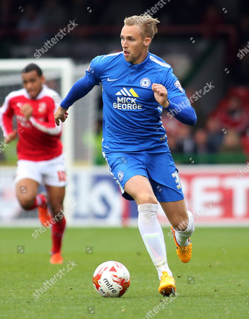 Jack Collison of Peterborough United on the ball